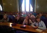 Uczniowie SP 36 w UM Krakowa